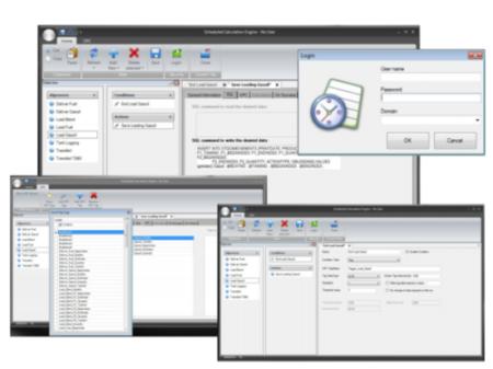Planningssysteem of Scheduled Calculation Engine