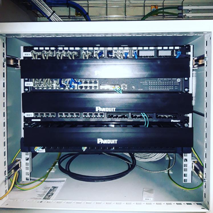 Vernieuwing en upgrade van een volledige netwerkinfrastructuur