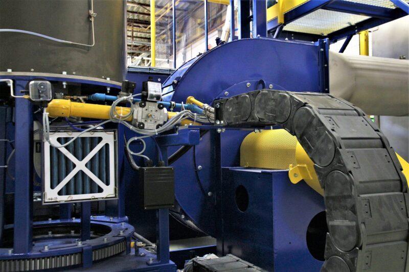 Machine herstellen na brand