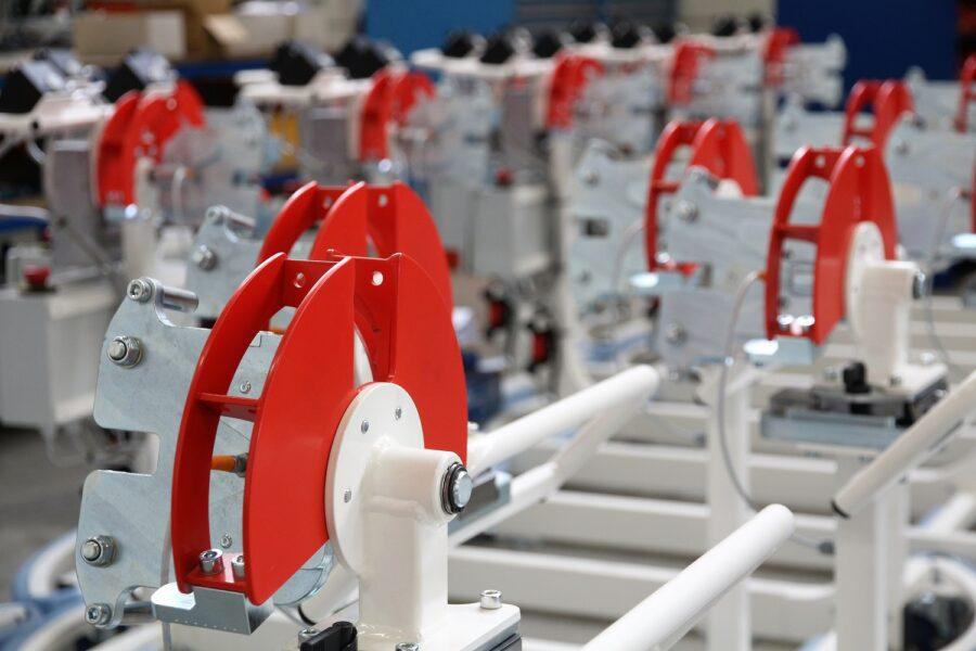 Radiator assembly trolley